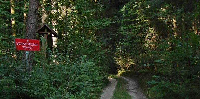 Ścieżki przyrodnicze, rezerwaty przyrody